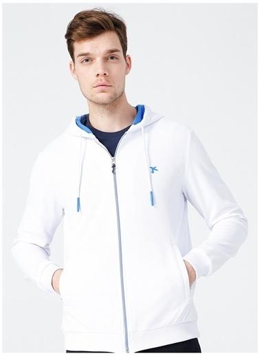 Fabrika Sports Fabrika Sports Cleo Beyaz Erkek Sweatmont Beyaz